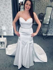 wedding dress from our showroom in essex